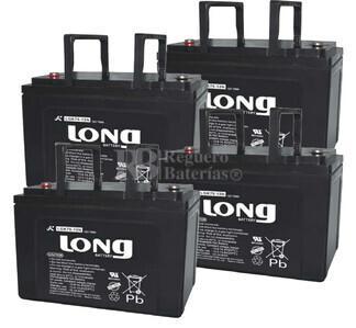 Baterías de sustitución para SAI APC MX5000 - APC RBC14