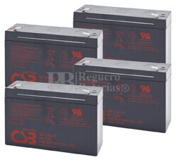 Baterías de sustitución para SAI APC AP800 - APC RBC-AP3