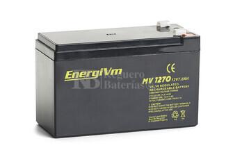 Bateria para triciclo, moto, coche de ni�os 12 Voltios 7 Amperios