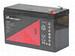 Bateria para Bicicletas Electricas 12 Voltios 9 Amperios Heycar HP129B