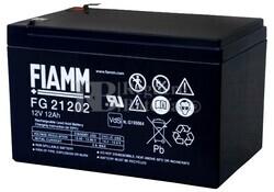 Bateria para Bicicletas Electricas 12 Voltios 12 Amperios Fiamm FG21202