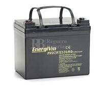 Batería para Silla de Ruedas 12 Voltios 33 Amperios Energivm