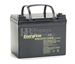 Batería Silla de Ruedas 12 Voltios 33 Amperios Energivm