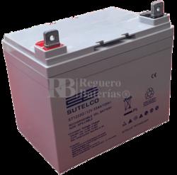 Bateria GEL Ciclica para Silla de Ruedas Eléctrica en 12 Voltios 33 Amperios ST1233G