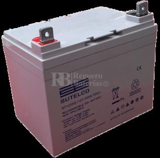 Bateria GEL Ciclica para Silla de Ruedas El�ctrica en 12 Voltios 33 Amperios ST1233G