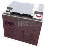 Bateria GEL Ciclica para Silla de Ruedas Eléctrica en 12 Voltios 50 Amperios ST1250G