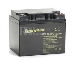 Bateria AGM Ciclica para Silla de Ruedas Eléctrica en 12 Voltios 40 Amperios MVD12400