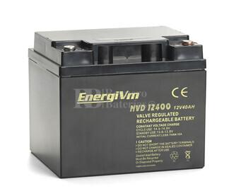 Batería AGM Cíclica para Silla de Ruedas Eléctrica en 12 Voltios 40 Amperios MVD12400