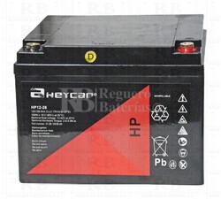 Bateria AGM Ciclica para Silla de Ruedas El�ctrica en 12 Voltios 26 Amperios HEYCAR HP12-26