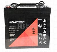 Batería AGM Cíclica para Silla de Ruedas Eléctrica en 12 Voltios 55 Amperios HP12-55
