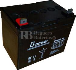 Bateria GEL Ciclica para Silla de Ruedas El�ctrica en 12 Voltios 33 Amperios U-POWER UPG33-12