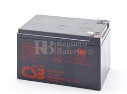 Batería AGM para Patines Eléctricos 12 Voltios 12 Amperios CSB
