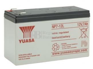 Batería para Patines Eléctricos 12 Voltios 7 Amperios YUASA NP7-12L