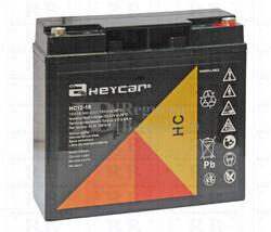 Batería AGM para Carrito de Golf alta capacidad 12 voltios 18 amperios
