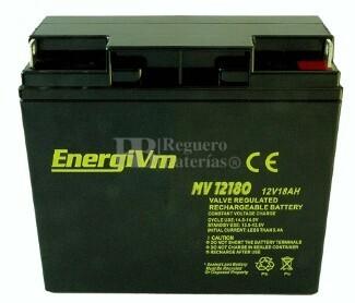 Batería Carrito de Golf 12 voltios 18 amperios ENERGYVM MV12180