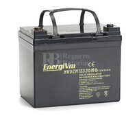 Batería Carrito de Golf 12 voltios 33 amperios ENERGYVM  MVDZM12330F11