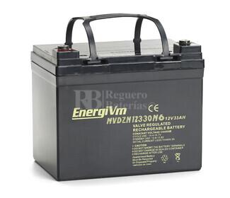 Bater�a AGM Ciclica para Carrito de Golf alta capacidad 12 voltios 33 amperios
