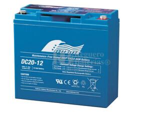 Bater�a AGM Ciclica para Carrito de Golf alta capacidad 12 voltios 20 amperios