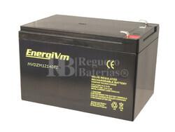 Batería para Scooter Eléctrico 12 Voltios 16 Amperios ENERGIVM MVDZM12140F2