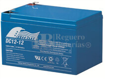 Batería para Scooter Eléctrico 12 Voltios 12 Amperios FULLRIVER DC12-12