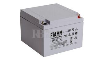 Batería para Scooter Eléctrico 12 Voltios 27 Amperios FIAMM FGC22703