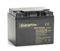 Batería para Scooter Eléctrico 12 Voltios 40 Amperios ENERGIVM MVD12400