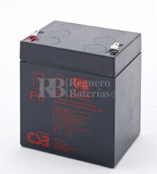 Batería AGM para Grúa Hospitalaria 12 Voltios 4,5 Amperios CSB GP1245