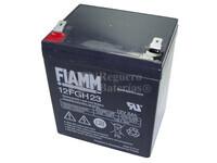 Batería AGM para Grúa Hospitalaria 12 Voltios 5 Amperios FIAMM 12FGH23
