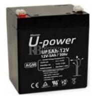 Batería para Grúa Hospitalaria 12 Voltios 5 Amperios U-Power NP5-12