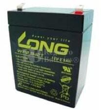 Batería AGM para Grúa Hospitalaria 12 Voltios 2,9 Amperios LONG WP2.9-12