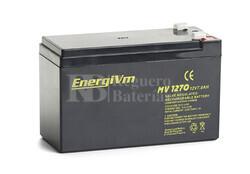 Batería para Alarma de 12 Voltios 7 Amperios ENERGIVM MV1270