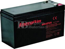 Batería para Alarma de 12 Voltios 7 Amperios ENERGIVM MV1270S
