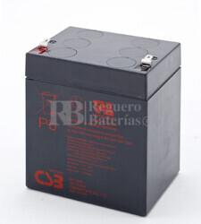 Batería para Alarma de 12 Voltios 4,5 Amperios CSB GP1245