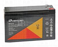 Batería para Alarma de 12 Voltios 7,5 Amperios HC12-7.2