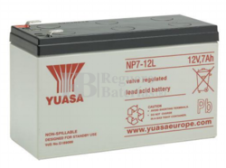 Bateria para Alarma de 12 Voltios 7 Amperios