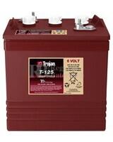 Bateria para apilador  6 Voltios 240 Amperios C20 262 x 181 x 283mm Trojan T-125