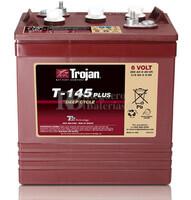 Bateria para apilador  6 Voltios 260 Amperios C20 264 x 181 x 295mm Trojan T-145