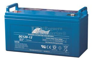 Bateria para caravana 12 voltios 120 amperios AGM Conexi�n Tornillo