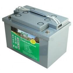 Bateria para caravana 12 voltios 65 amperios GEL Conexi�n Tornillo