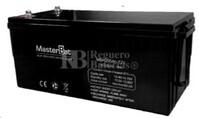 Bateria para caravana 12 voltios 200 amperios AGM Conexión Tornillo