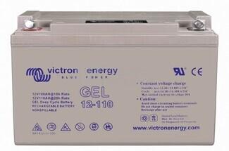 Bateria para caravana 12 voltios 110 amperios AGM Conexión Tornillo