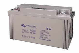 Bateria para caravana 12 voltios 130 amperios AGM Conexión Tornillo