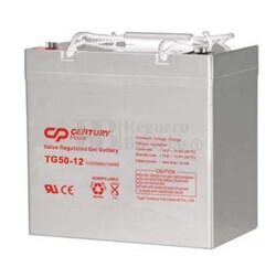Batería de Gel para Silla de Ruedas Eléctrica en 12 Voltios 55 Amperios TG50-12