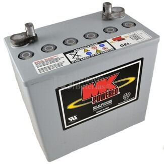 Batería de Gel MK para Silla de Ruedas Eléctrica en 12 Voltios 50 Amperios MK M22NF SLD G