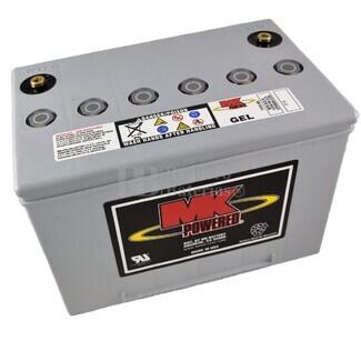 Batería de Gel MK para Silla de Ruedas Eléctrica en 12 Voltios 60 Amperios MK M34 SLD G