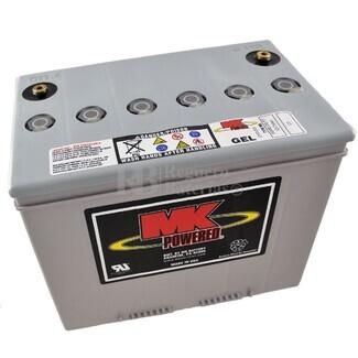 Batería de Gel MK para Silla de Ruedas Eléctrica en 12 Voltios 73 Amperios MK M24 SLD G FT