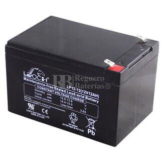 Batería para Patines Eléctricos 12 Voltios 12 Amperios  LEOCH LP12-12