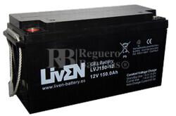 Bateria para caravana 12 voltios 150 amperios en GEL Conexi�n Tornillo