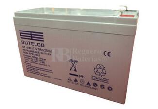 Bateria para Alarma de 12 Voltios 9 Amperios