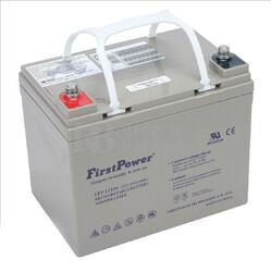 Batería GEL Carrito de Golf 12 Voltios 33 Amperios FIRSTPOWER LFP1233G
